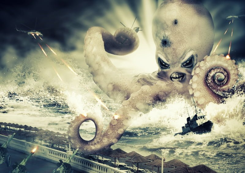 Mossad Unleashes Giant Kraken against Gazan Fishing Ships - The Mideast Beast