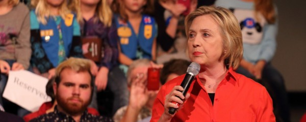 Clinton: I'm as Qualified as Any Male Candidate to Fail at Solving Israeli-Palestinian Conflict