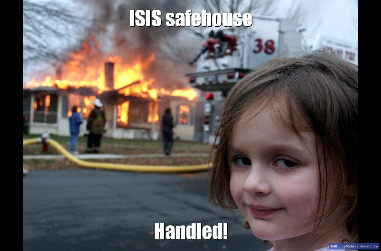 MEME – ISIS safehouse