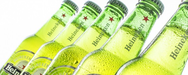 Abbas and Netanyahu Engage in Peace Talks over Cold, Refreshing Heineken Lager