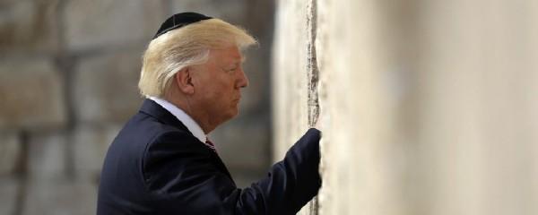 Trump Demands Pussy-Grabbing Space at Western Wall