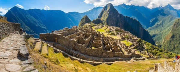 Palestinian President Abbas finds himself in Machu Picchu