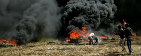 Gazans Officially Run Out of Things to Set Fire To