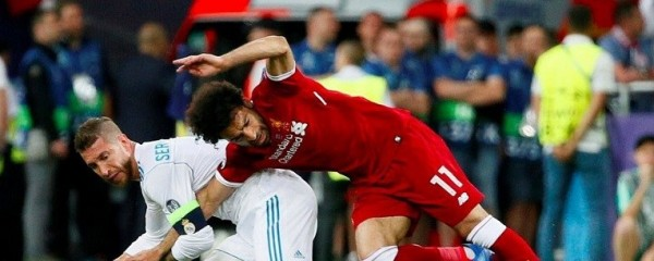 Sergio Ramos Accused of Being Israeli Spy Over Mo Salah Tackle