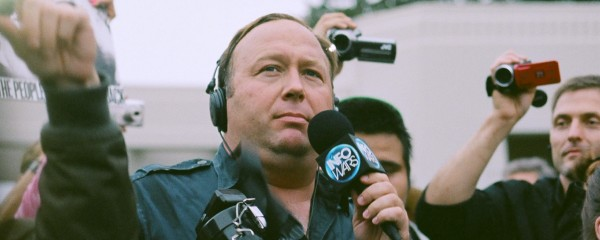 Alex Jones Delivers Rational and Thoughtful Response to Internet Ban