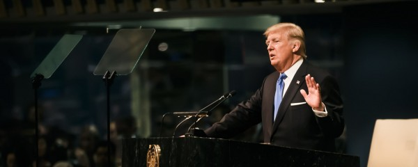 Trump Shows 'America First' Leadership at UN by Cutting Lunch Line