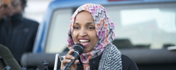 Dems to Redefine Hate Crime as 'Disagreeing with Ilhan Omar About Anything'