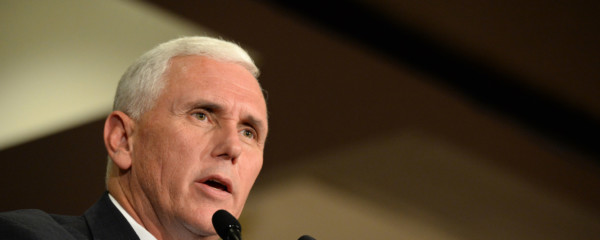 Mike Pence Reconsiders Position on Palestine after Gay-Ban