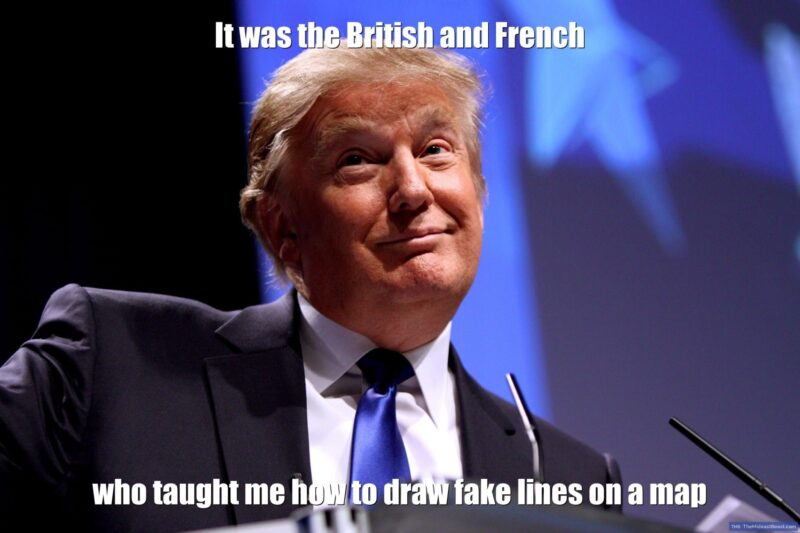 MEME – It was the British and French