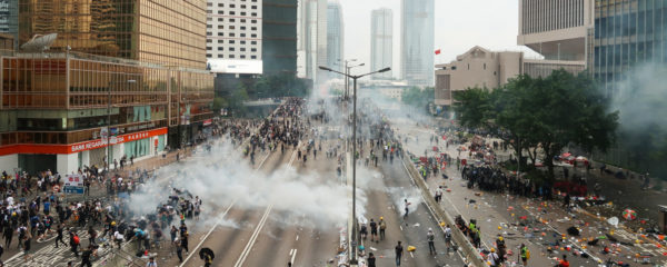Iran Mistakenly Cracks Down on Hong Kong Protests