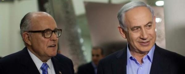 Giuliani Offers to Take Fall for Netanyahu Too