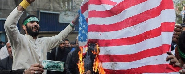 Iranian Economy in Crisis as Flammable American Flag Sales Plummet
