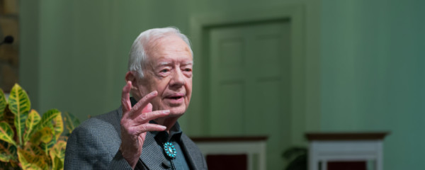 Jimmy Carter Offers Jews Homemade Peanut Butter if They Return to Egypt