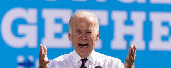 Biden: Only I Can Stop Saddam Hussein