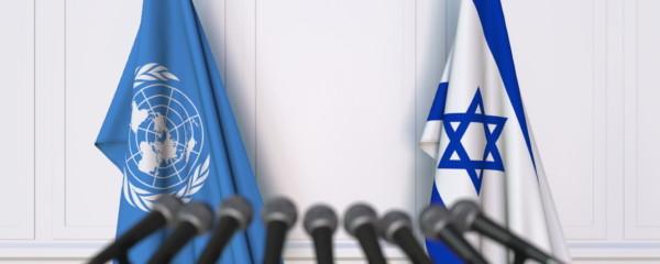 UN Closes Due to Coronavirus, Israel Condemned