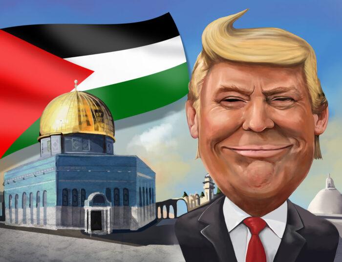 """Trump Tweets """"Liberate Palestine!"""" By Mistake"""