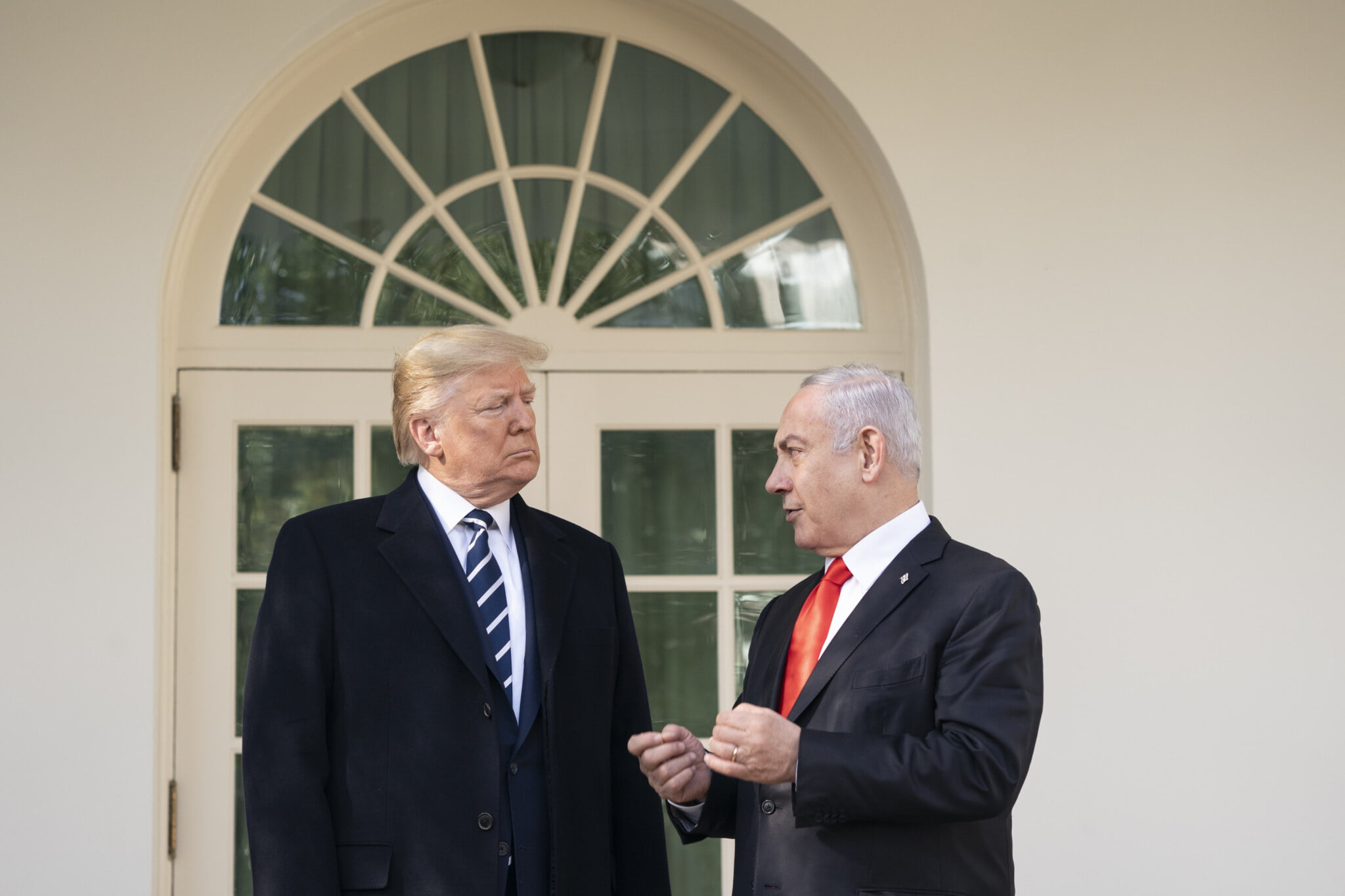 Trump Balances Budget by Making Netanyahu Do His Own Laundry