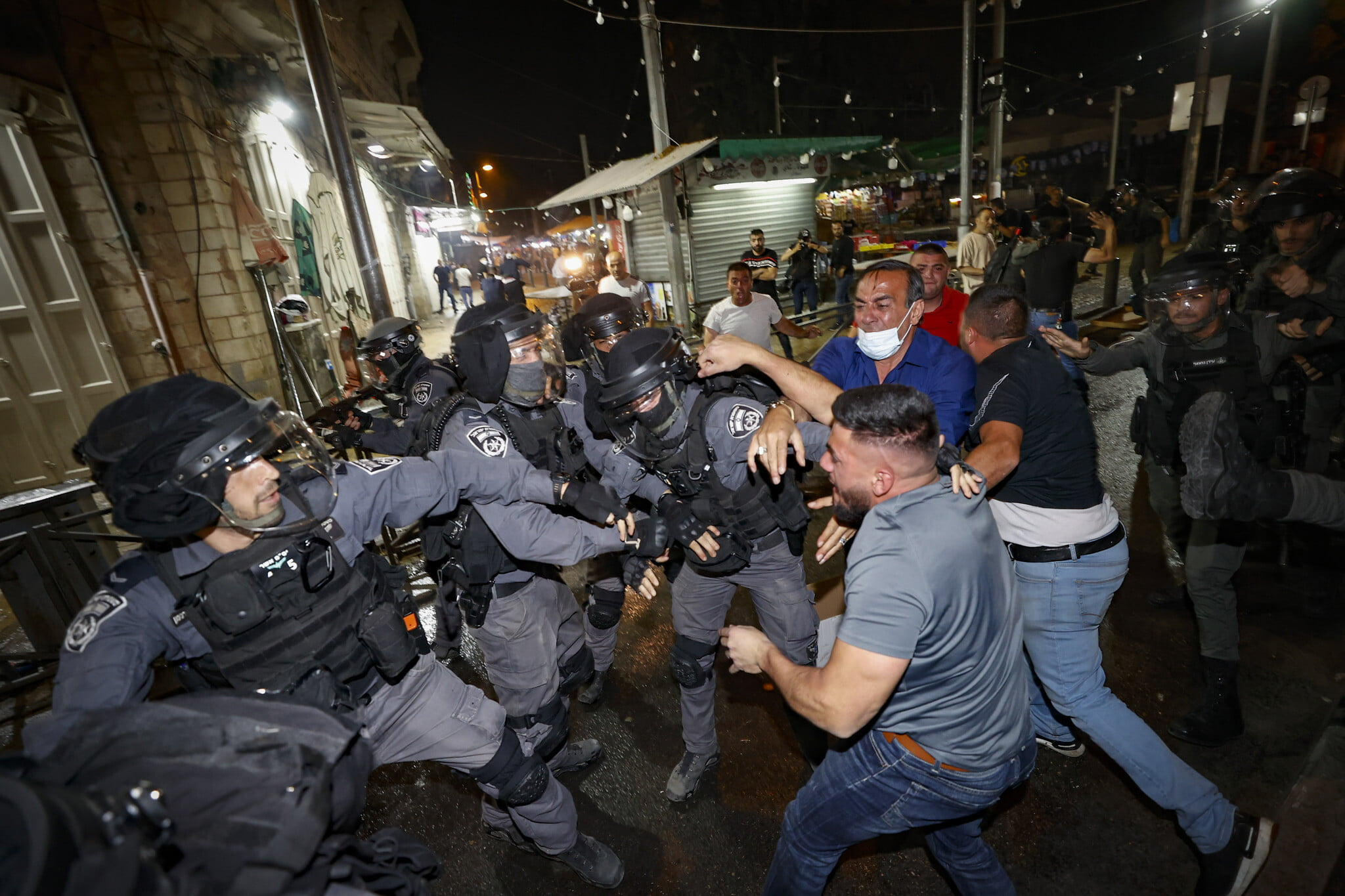 Once Again, God Urges Both Jews, Muslims to Stand Their Ground in Dispute over Jerusalem