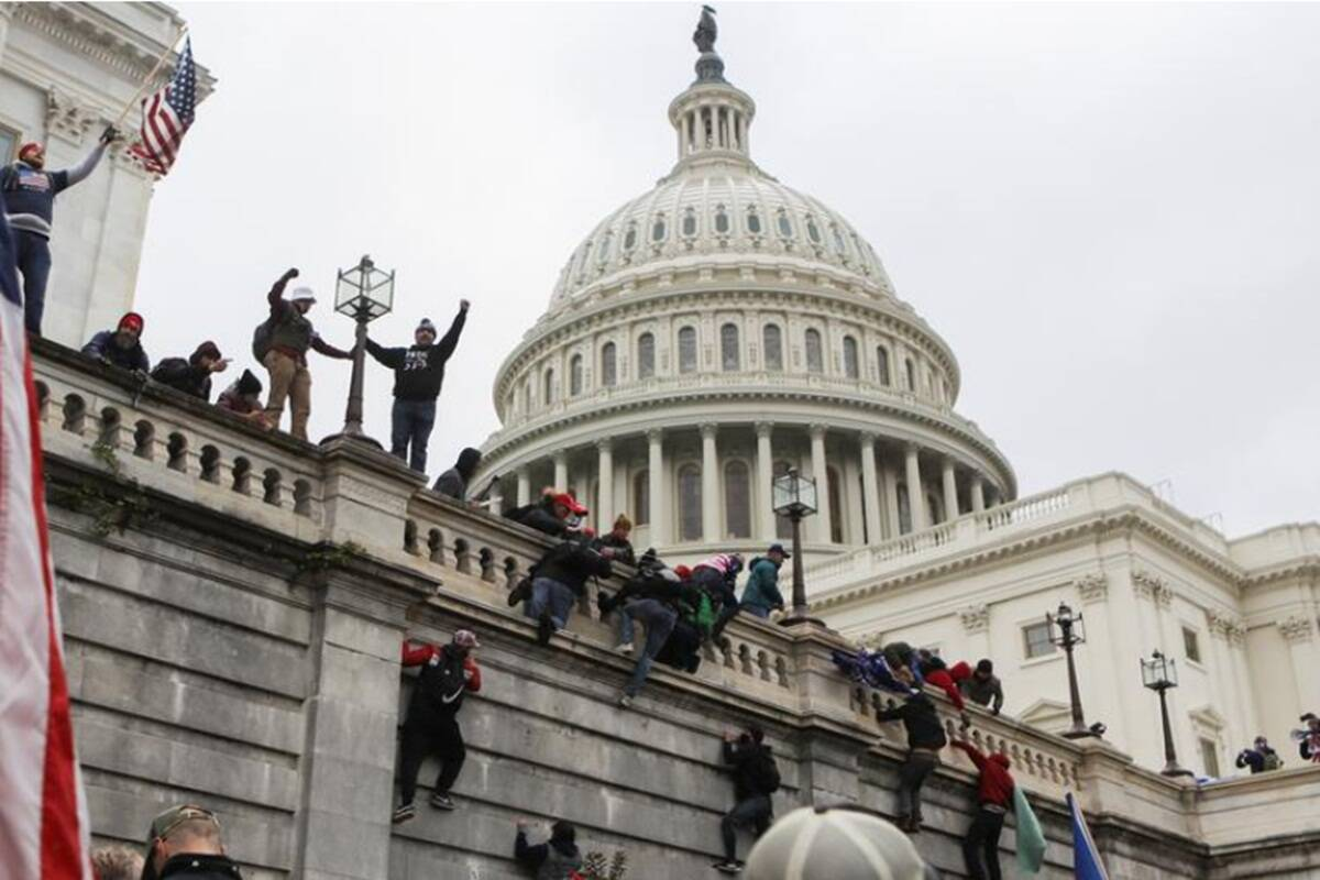ISIS Depressed No One Blaming Them for Capitol Attack