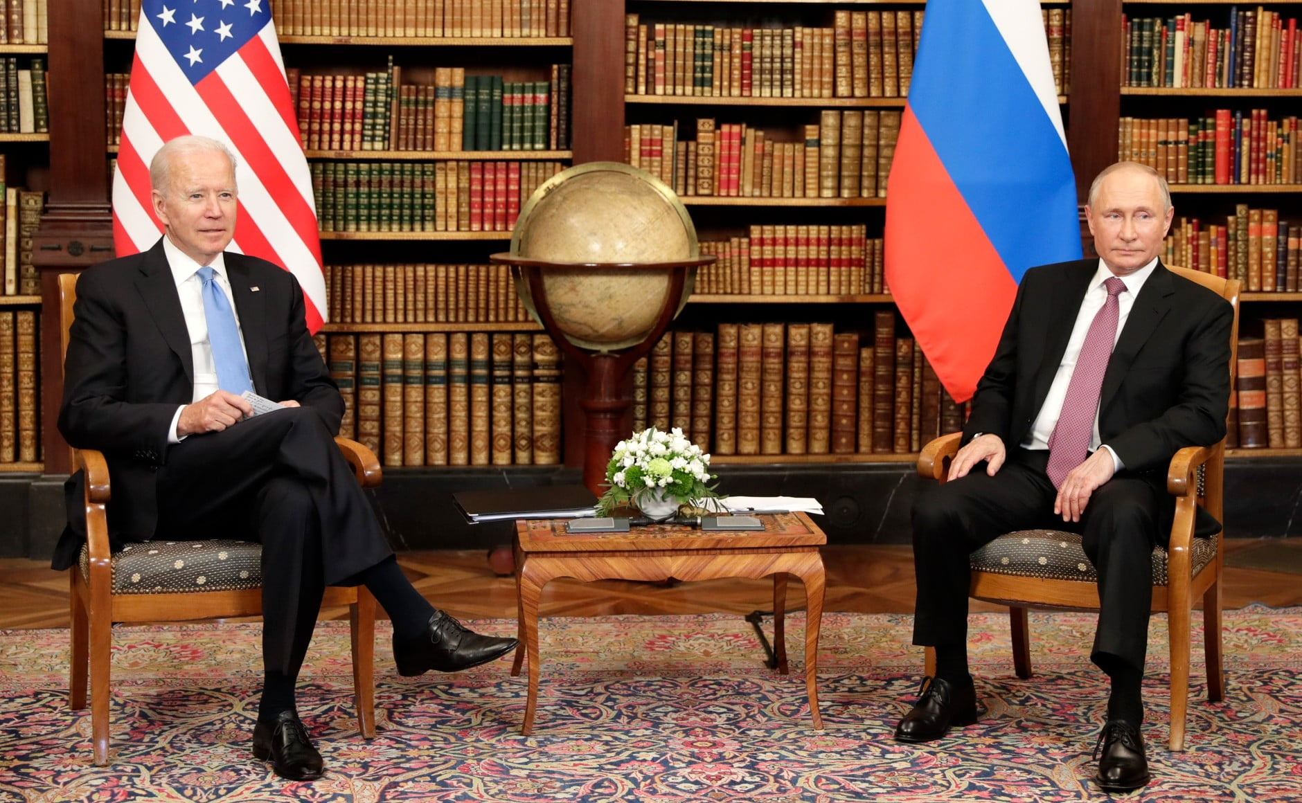 "Biden and Putin Agree to ""Make World Peaceful like the Mideast"""