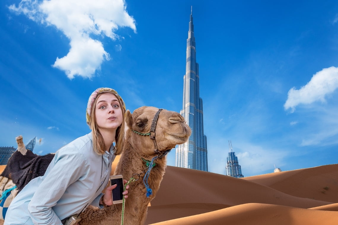 """White Girl Totally """"Gets"""" Middle Eastern Culture After Trip to Dubai"""