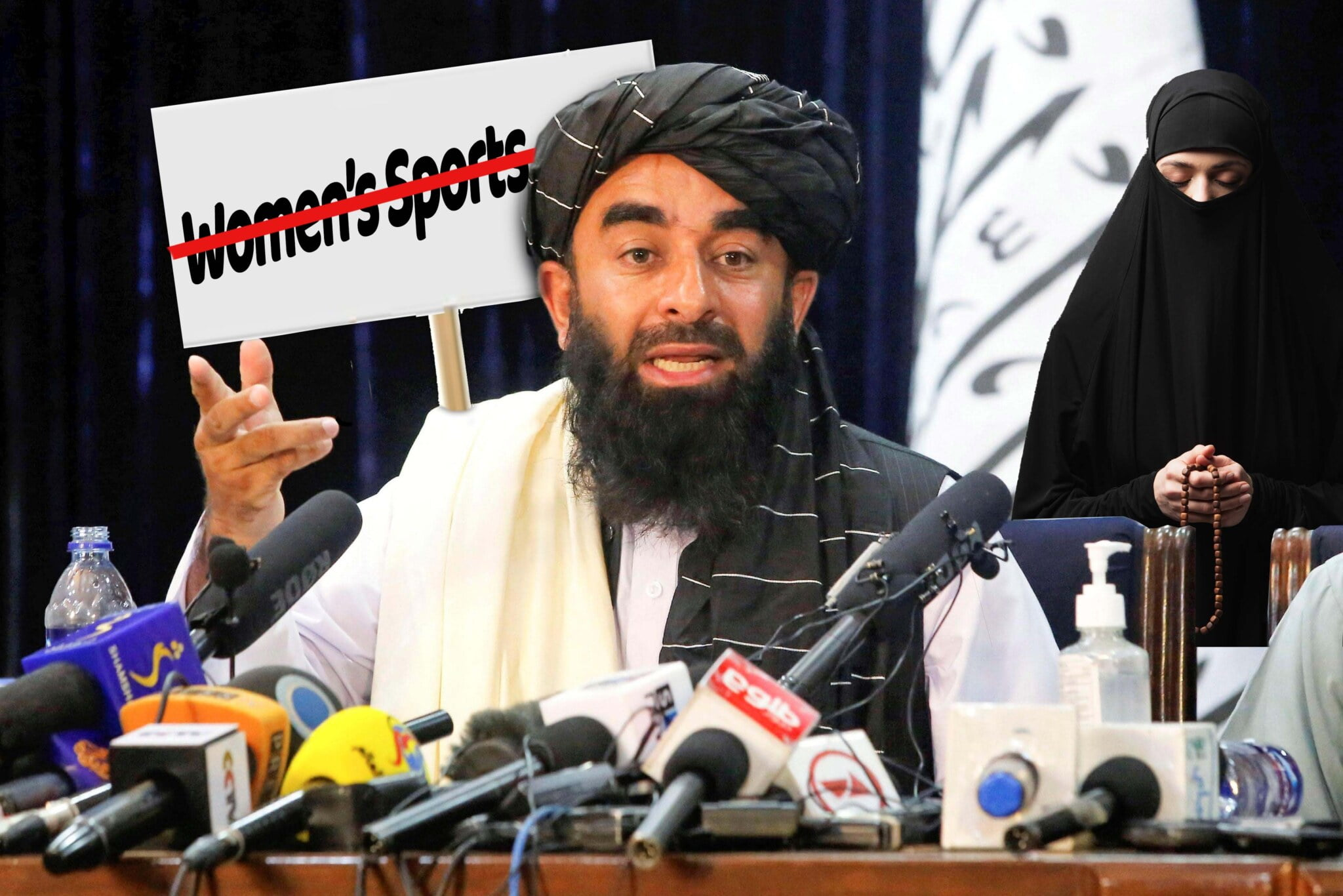 Equality! Taliban Bans Biological Males and Biological Females from Participating in Women's Sports